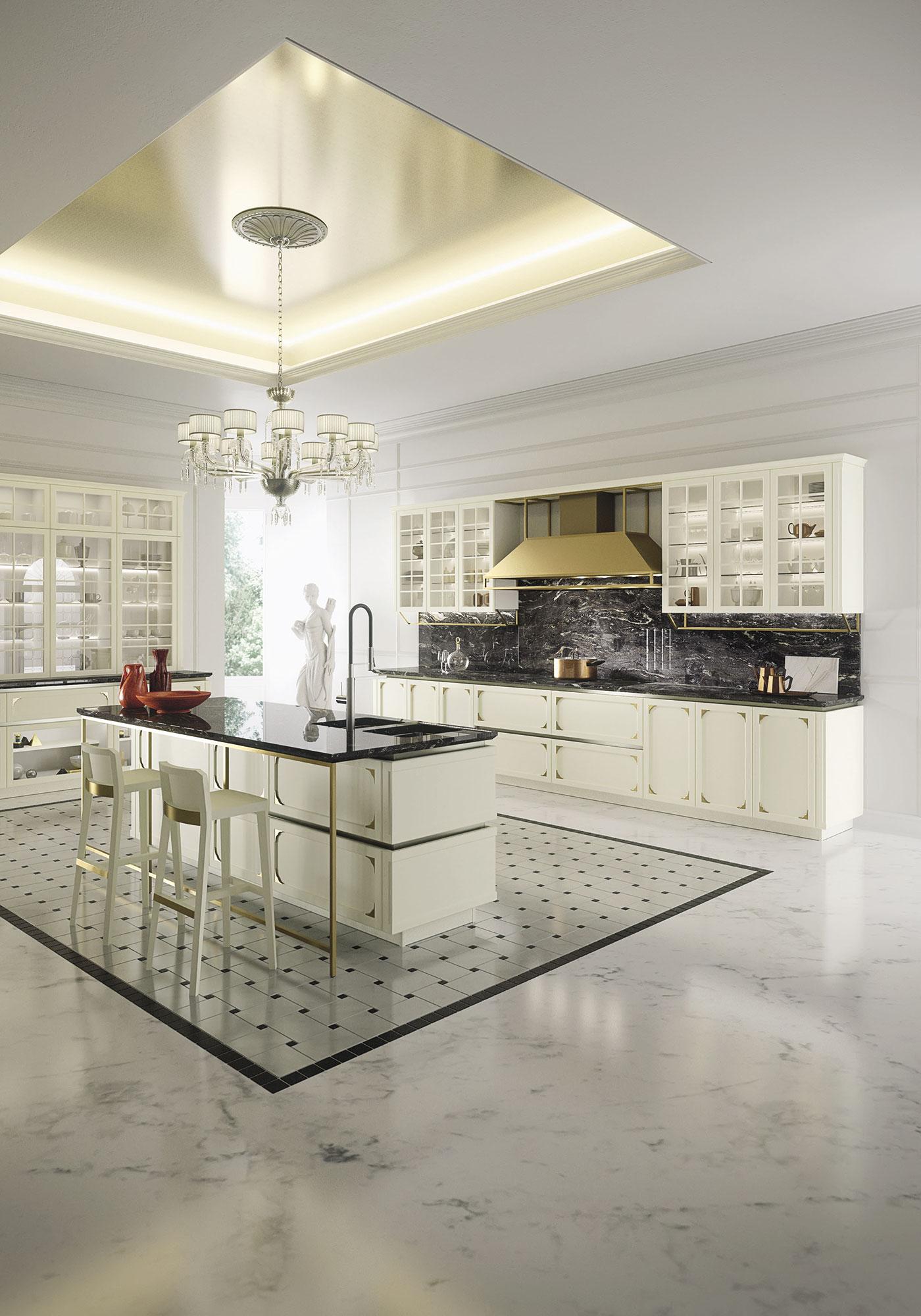 Deco Salle De Bain Beige Et Marron ~ Cuisine Moderne Kelly Snaidero Mktop